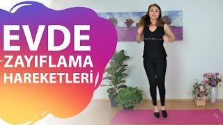 ZAYIFLAMA HAREKETLERİ - 30 DK. 500 KALORİ YAK! | Rana Çetin