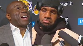 LeBron James DISRESPECTED By Magic Johnson After Leaving Lakers (Parody)