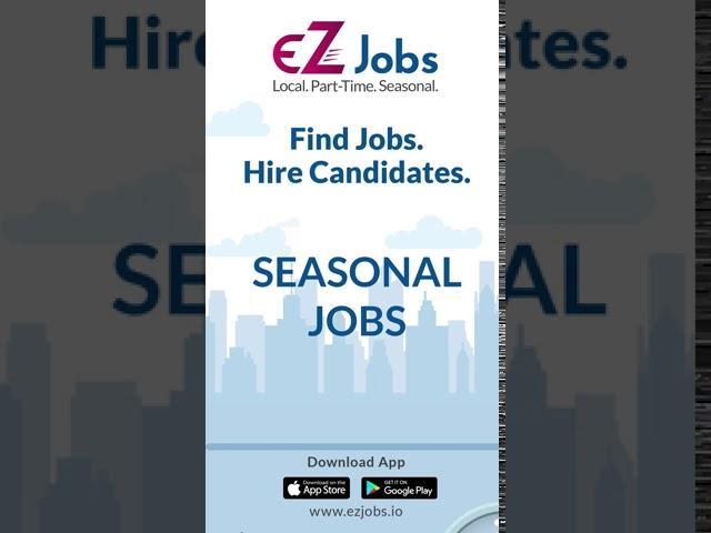 #EZjobs App helps you #Findjobs. Download the#EZApp today.