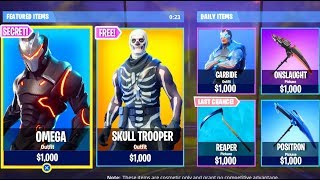 $5000 FORTNITE ACCOUNT! LEVEL 80 OMEGA, SKULL TROOPER, LEVEL 65 CARBIDE, FOUNDERS SKIN PACK