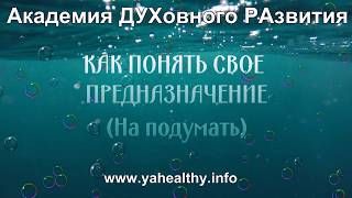 КАК ПОНЯТЬ СВОЕ ПРЕДНАЗНАЧЕНИЕ   древняя практика энергии жива   Обучение в Челябинской области
