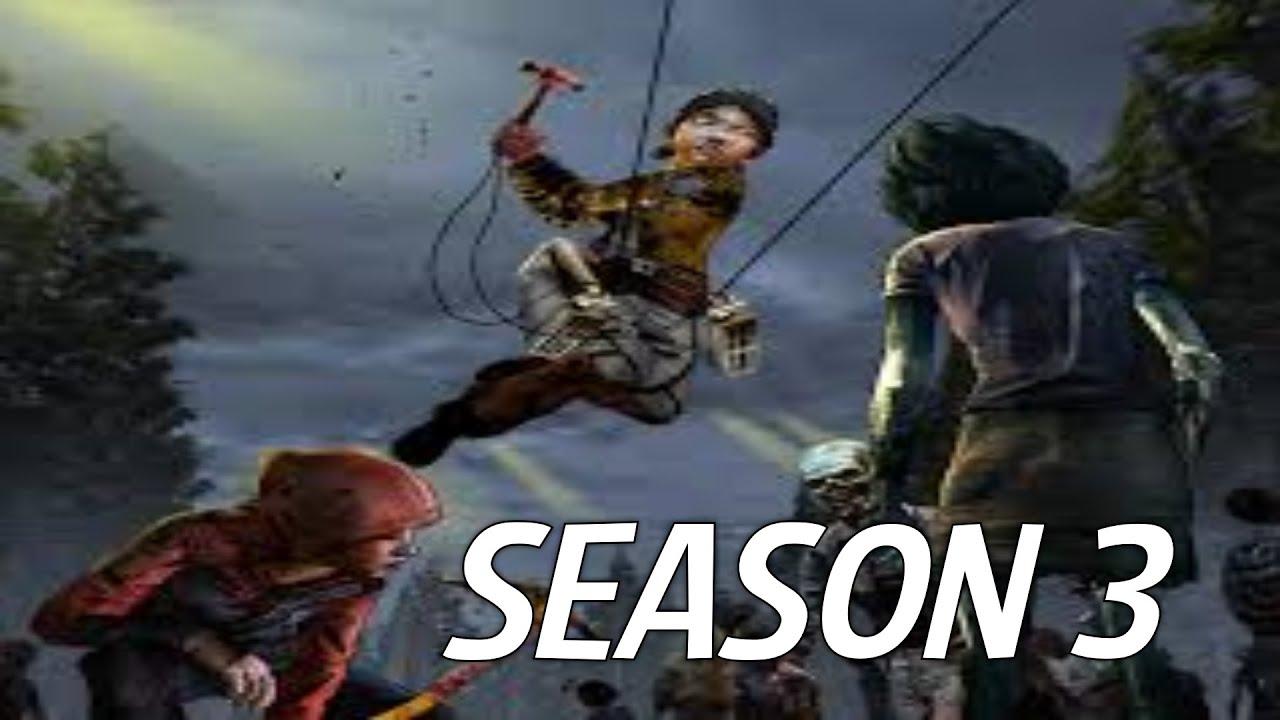 The walking dead game season 3 release date