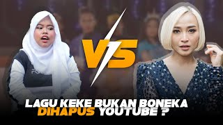 PLAGIAT ? Penyebab Video Lagu Keke Bukan Boneka Dihapus Youtube | Musisi Cover Wajib Tau