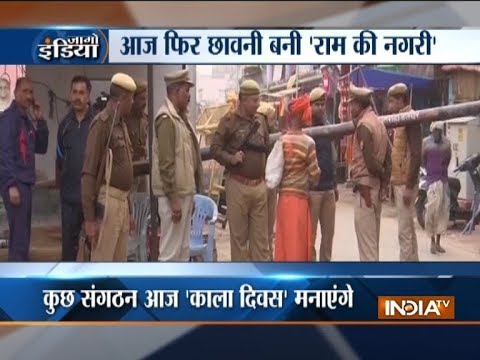 Security tightened in Ayodhya in view of Babri demolition anniversary