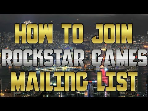 How to Join Rockstar Games Mailing List & Social Club (GTA 5 Free Money Bonus)