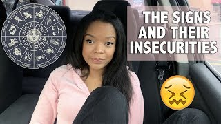 THE ZODIAC SIGNS INSECURITIES | ZODIAC TALK