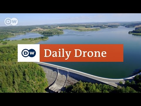 #DailyDrone: Pöhl Dam