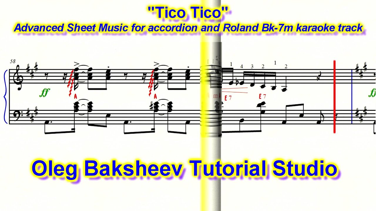 how to know a tonality on accordeon