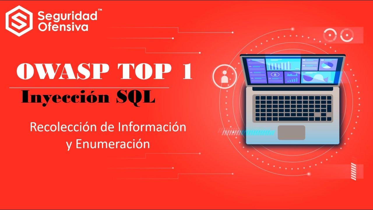 OWASP TOP 1 - Inyección SQL - Recolección de Información y Enumeración