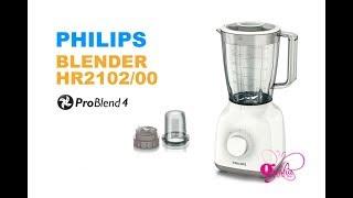 Philips, Blender HR2102 Jar Plastik (Unboxing)