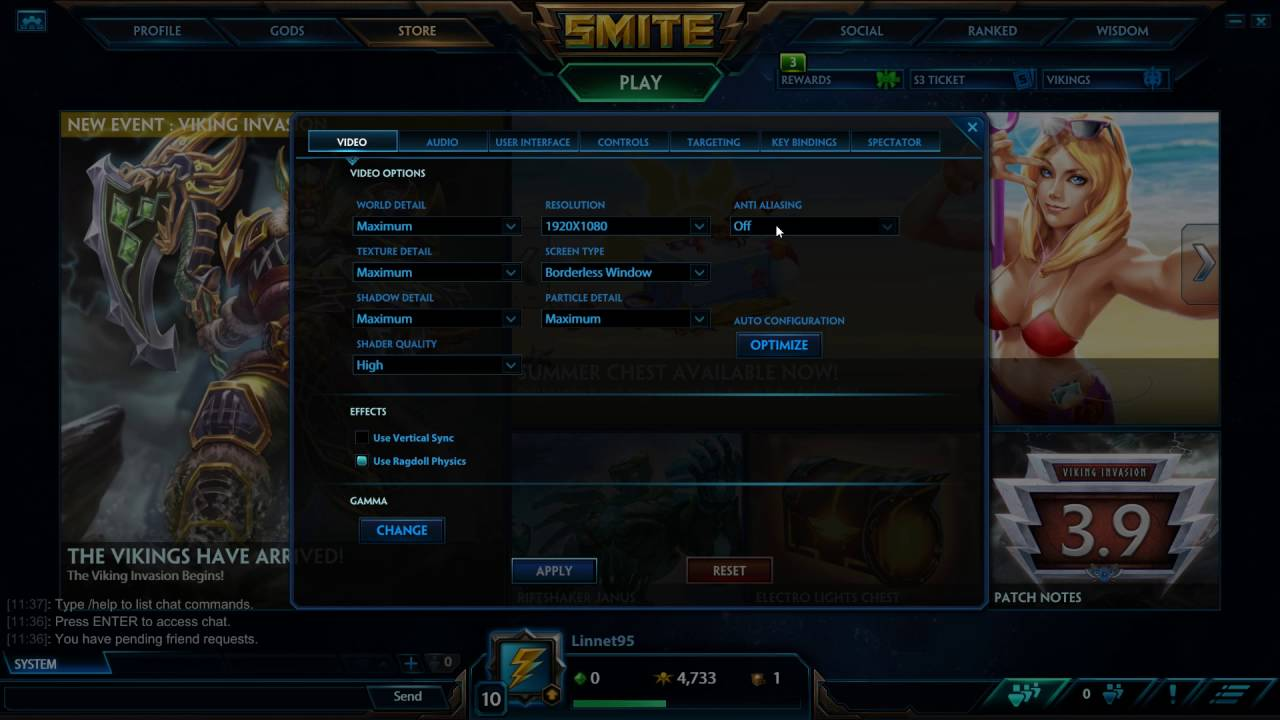 How To Enable Anti Aliasing In Smite