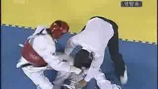 moon dae sung campeon de taekwondo atenas 2004