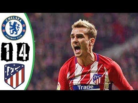Chelsea vs Atletico Madrid 1-4 - All Goals & Highlights ...