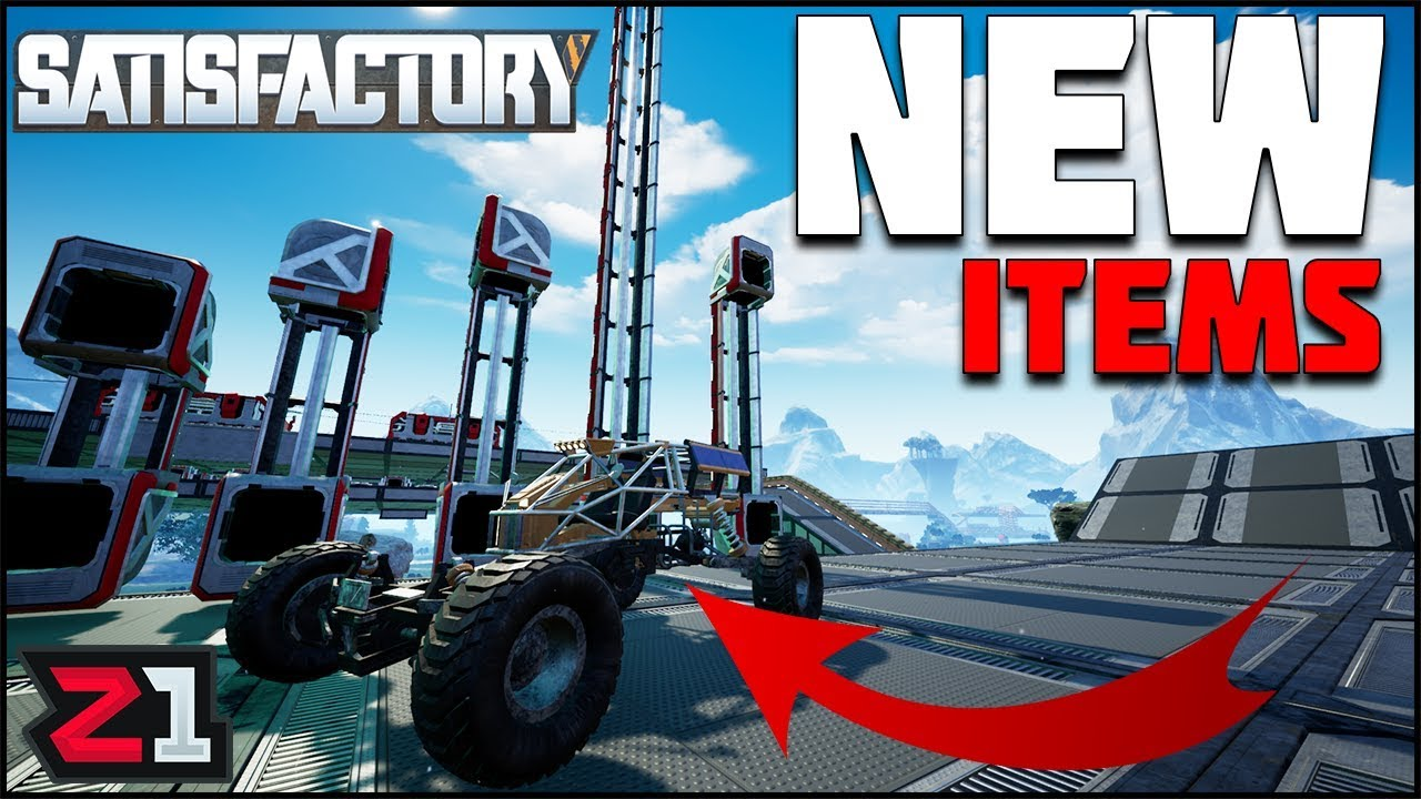 NEW Rover, Elevators and So Much MORE! Satisfactory Experimental Update |  Z1 Gaming