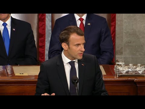 French president's speech before Congress was reminiscent of Obama, reporter says