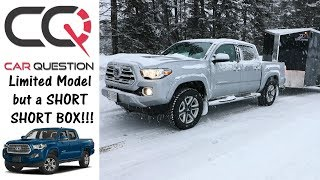 2018 Toyota Tacoma Limited | Small Box but AGILE | Quick Review
