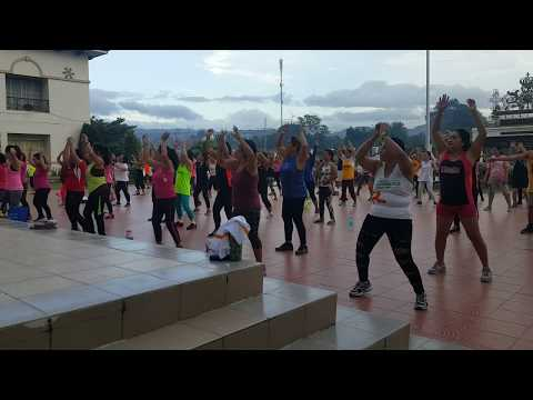 With the zumba instructors in Talisay City Cebu
