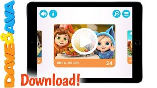 😀  Dave and Ava's App for IOS | Nursery Rhymes and Baby Songs from Dave and Ava 😀
