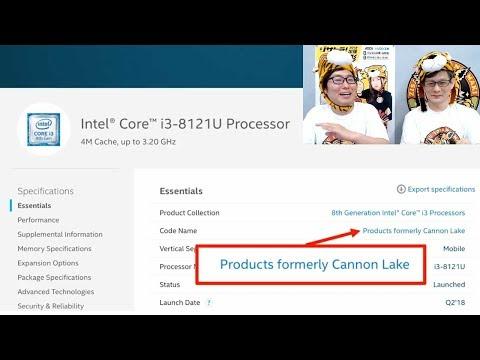 ジサトラKTU #59 ~Cannon LakeにCascade Lake、Intelの最新CPUウワサまとめ~