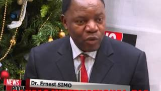 Dr Ernest Simo: Canal2 TV Interview Dec 2014