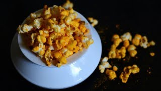 Cheese Pop-Corn at Home, in Just 2 Minutes @ Guru's Cooking