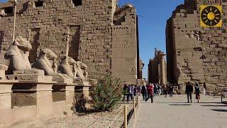 """ÄGYPTEN - Teil 1 """"Urlaub in Ägypten am Nil - Luxor und Tempel von Karnak"""" EGYPT"""
