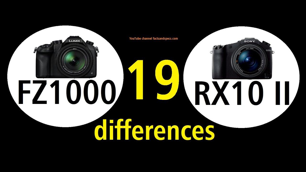 New prices Sony RX10 II vs Panasonic FZ1000