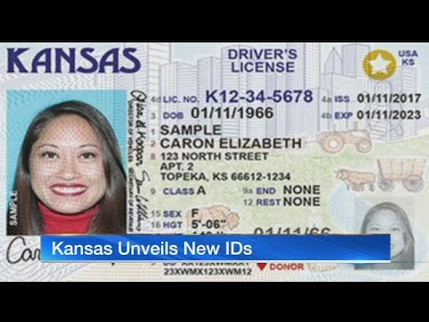 Kansas Unveils New Real Id Drivers Licenses 3 Years Early Youtube