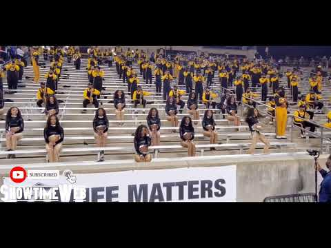 """""""Rock Steady Baby"""" Alabama State Stingettes and Band- Southern Univ Game 2021"""