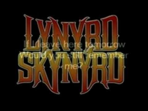 Free Bird By: Lynyrd Skynyrd with lyrics
