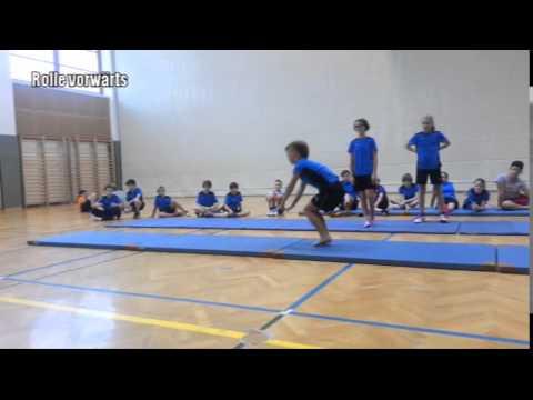 Sport Ms Tv Prufung Bodenturnen Youtube