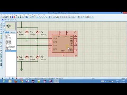 How to design bond for Proteus 8.0