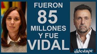 Fueron $85 millones y fue Vidal   El Destape con Roberto Navarro