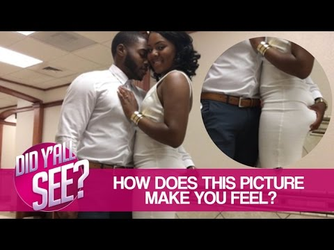 Would You Allow You Man To Grab Your Butt In Wedding Pictures? | Did Y'all See?