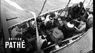 Plane In Flight Over Sea (1943)