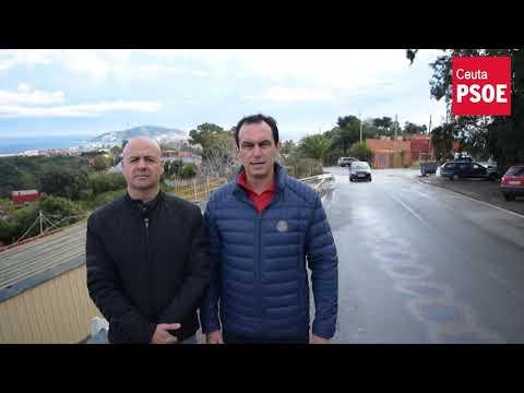 El PSOE denuncia los problemas de accesibilidad y seguridad vial del Serrallo