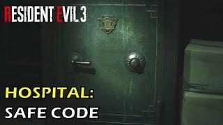 Hospital Safe Code Location Nurse's Station Resident Evil 3 Remake