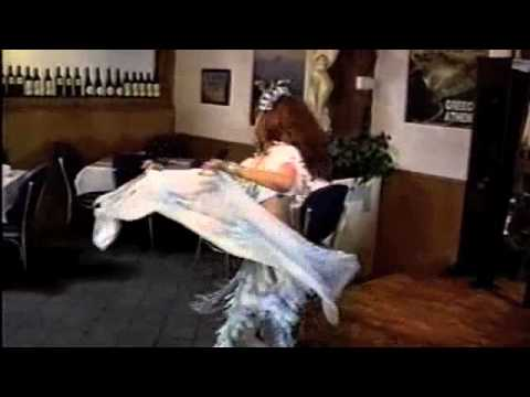 """Sultry Sabrina"" American Cabaret Greek Rest. San Diego"