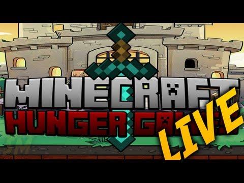 Minecraft Minigame Livestream! Hunger Games Marathon !!!