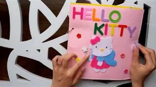 MÈO HELLO KITTY NẤU ĂN  |  A DAY OF HELLO KITTY   |  GHES HANDMADE
