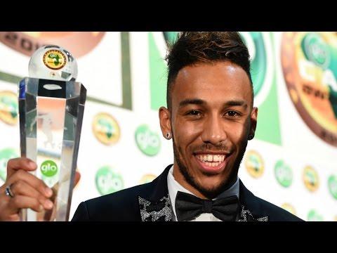 Football: Borussia Dortmund striker Pierre-Emerick Aubameyang named African footballer of the year