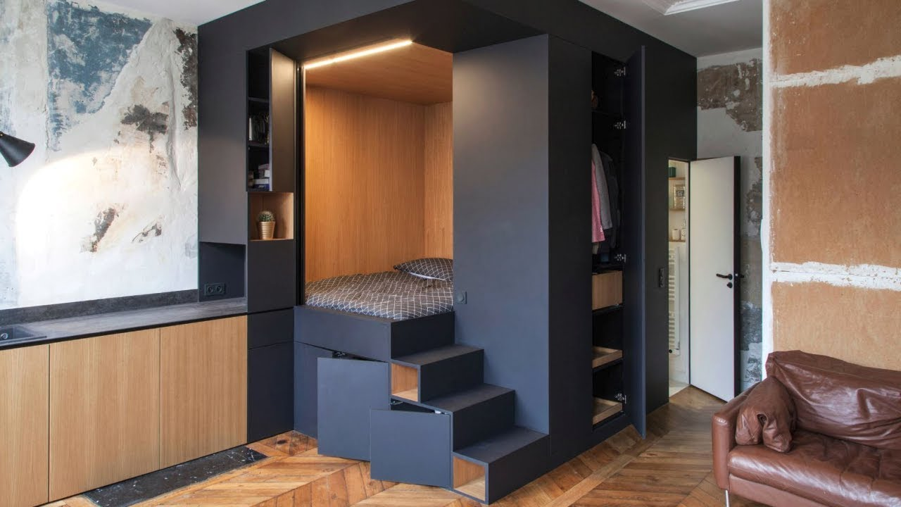 20 Smart Small Apartment, Interior Design Ideas - YouTube