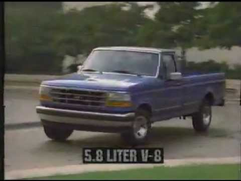 1996 Ford F150 Commercial for Texas  YouTube