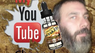 "Twelve Monkeys, ""Mangabeys"" eJuice Review"