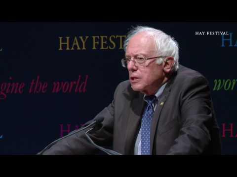Bernie Sanders at Hay 2017 - Eric Hobsbawm Lecture
