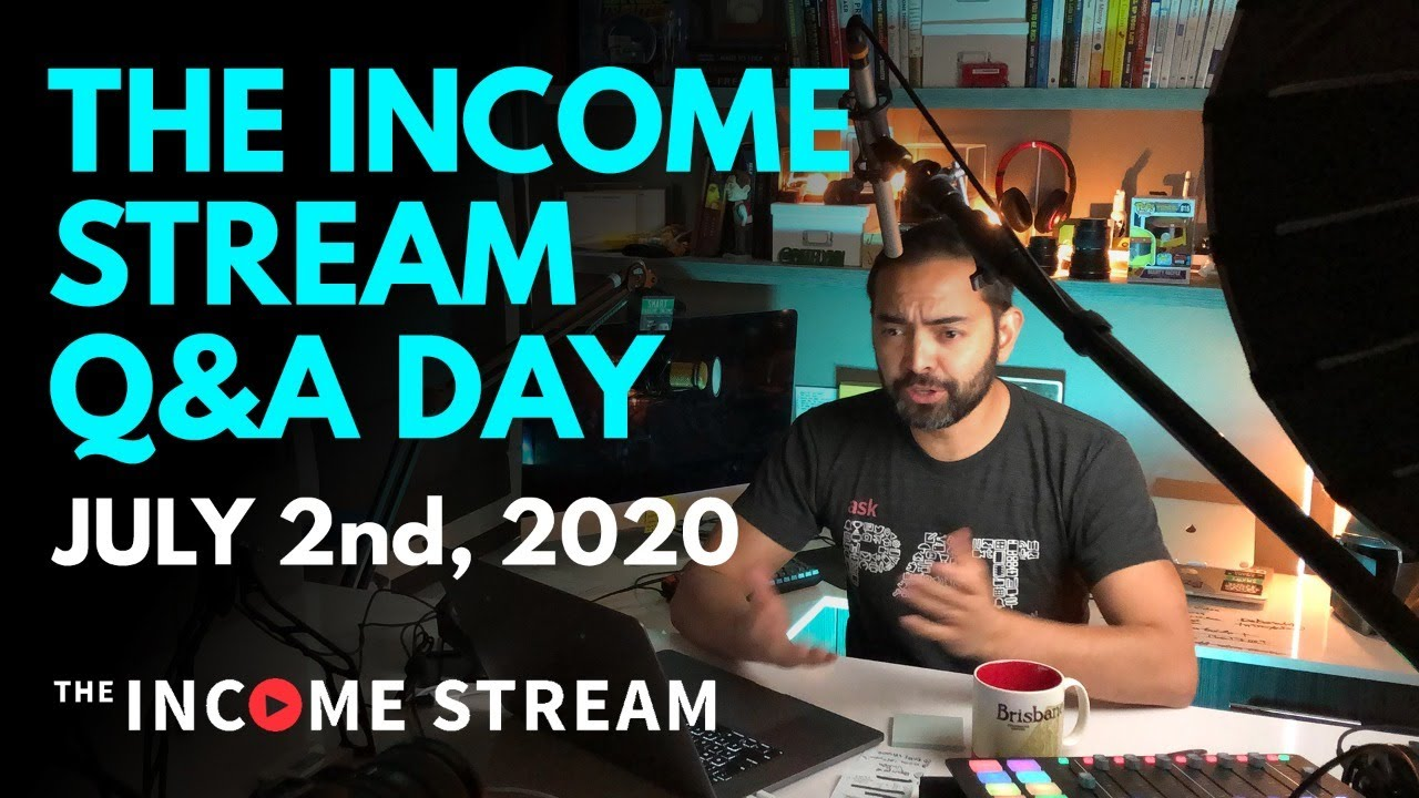 Questions and Answers with Pat Flynn - The Income Stream Day 105