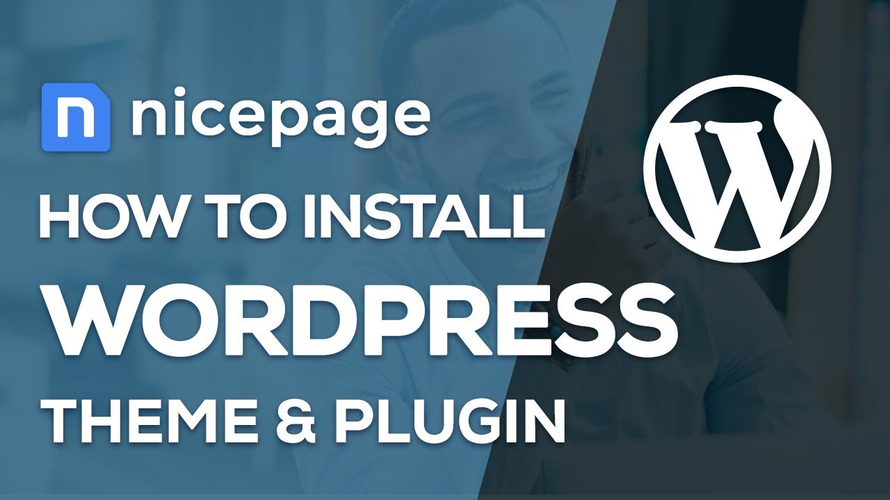 How to Install WordPress Theme and Plugin with Nicepage Website Builder