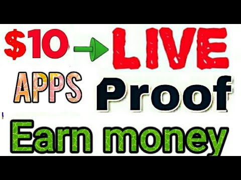 Earn money from PayPal App live payment proof 10$  payment PayPal earnings best app
