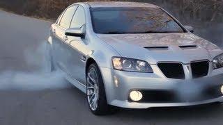Pontiac G8 Burnout to 120mph
