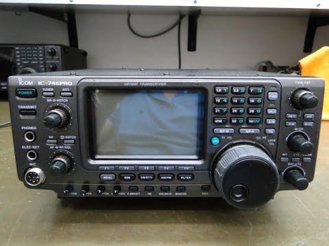 ALPHA TELECOM: ICOM IC-746PRO do KK6DSN ILDEFONSO de SAN DIEGO - CA - USA